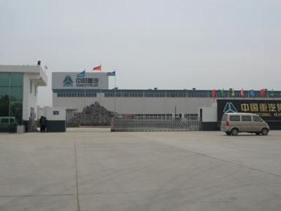 中国重汽门口电动门案例