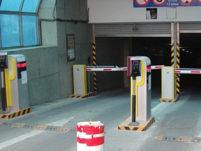 地下停车场车牌识别案例