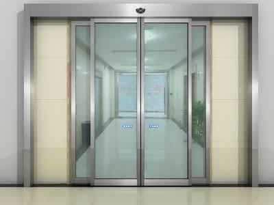 济南自动感应玻璃门